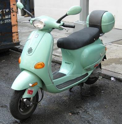 Seafoam green Vespa | Mint to Be | Pinterest  Seafoam green V...