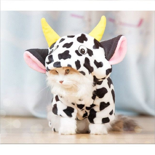 Type: Cats Item Type: Costumes Style: Fashion Material: fleece Season: All Seasons,Autumn/Winter Pattern: Animal Type: Cat costumes Funny Pajamas cat costumes Name 1: Puppy clothes Pattern: Cat Clothi