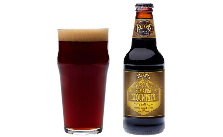 Sumatra coffee + a bit of chocolate malt? Founder's Brewing Coffee Beer sounds like my kinda brew!