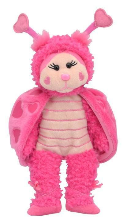 Beanie Kids - Luvina the Love Bug Bear - BRAND NEW