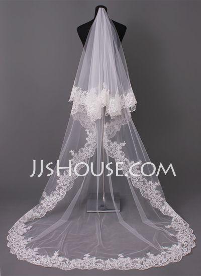 Wedding Veils - $46.99 - Wedding Veils (006005417) http://jjshouse.com/Wedding-Veils-006005417-g5417