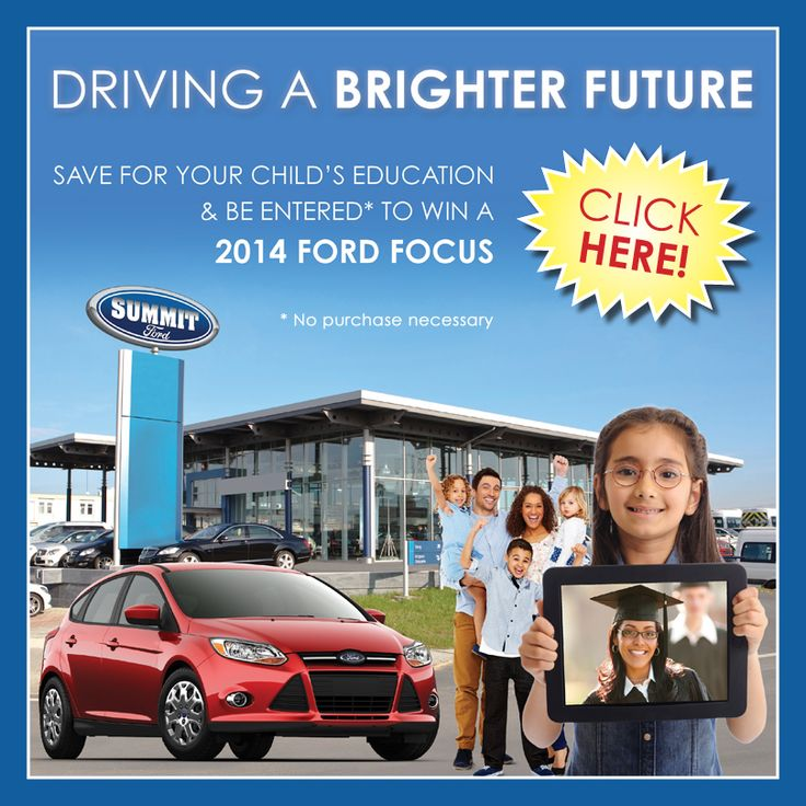 Driving A Brighter Future  Save for your child's education & be entered* to #WIN a 2014 #FORD FOCUS.  *No purchase necessary.  Click here for details on our Facebook Page: http://on.fb.me/17Vleja  Visit our website for full #contest details: HeritageRESP.com/WinaCar