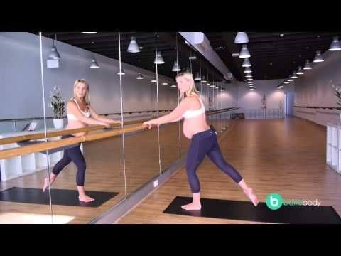 Barre Body - Prenatal glute workout - YouTube 7 minutes