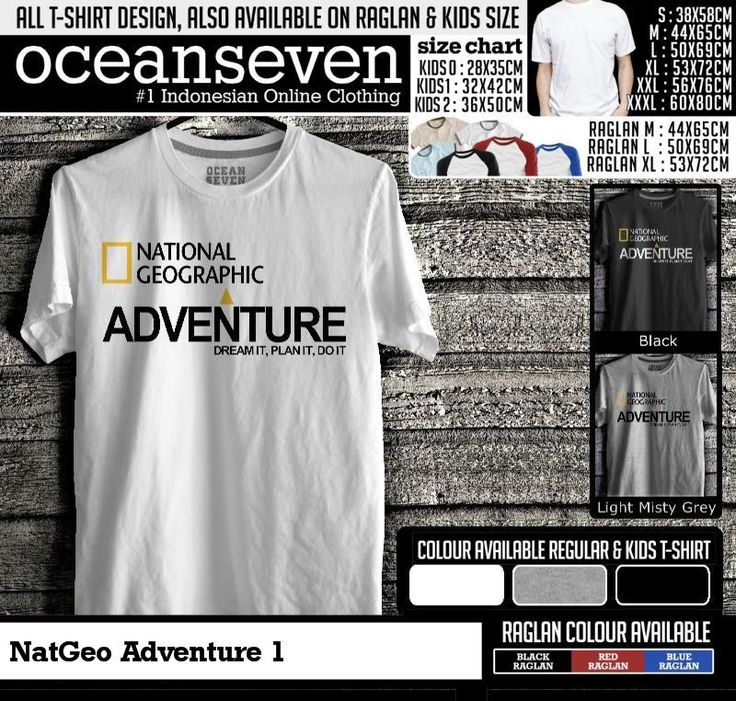 t shirt natgeo adventure 1