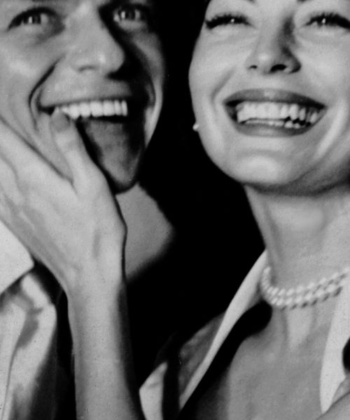Ava & Sinatra - aw this has go to be the best picture ever of this amazing couple