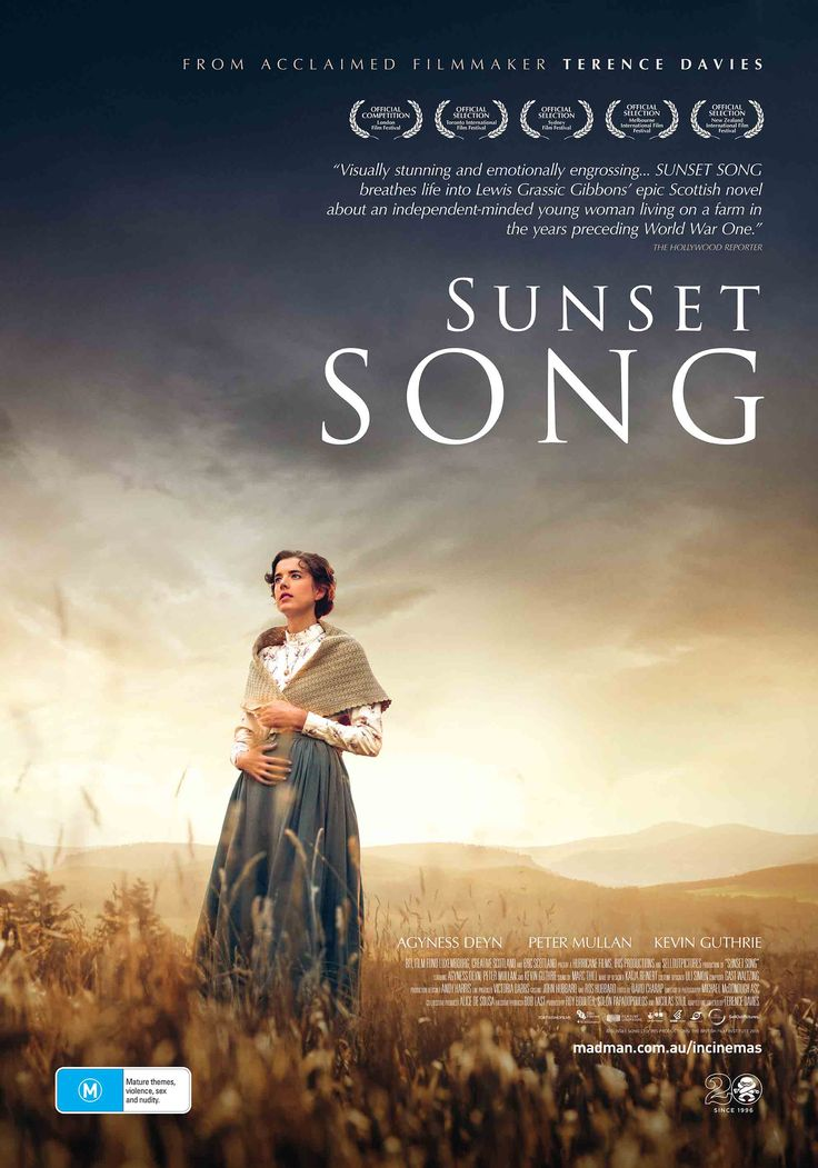 Sunset song - With World War I brewing and her family scattered across the countryside, a Scottish farm girl struggles to find her way.
