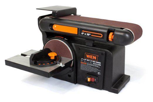 WEN 6502 4 x 36-Inch Belt with 6-Inch Disc Sander