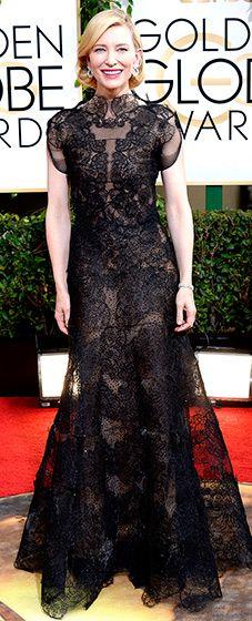 Cate Blanchett: 2014 Golden Globes