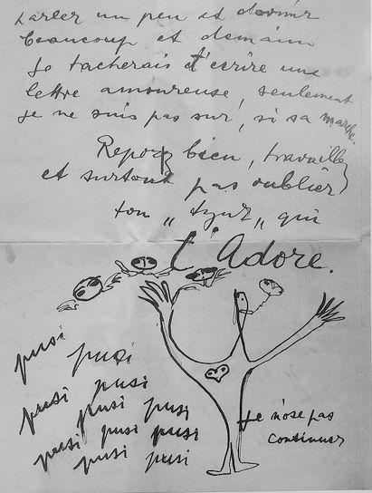 carta de arpad para vieira da silva