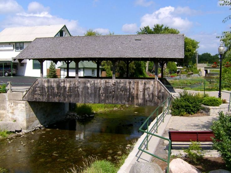 Covered Bridge, Stirling Ontario jigsaw puzzle