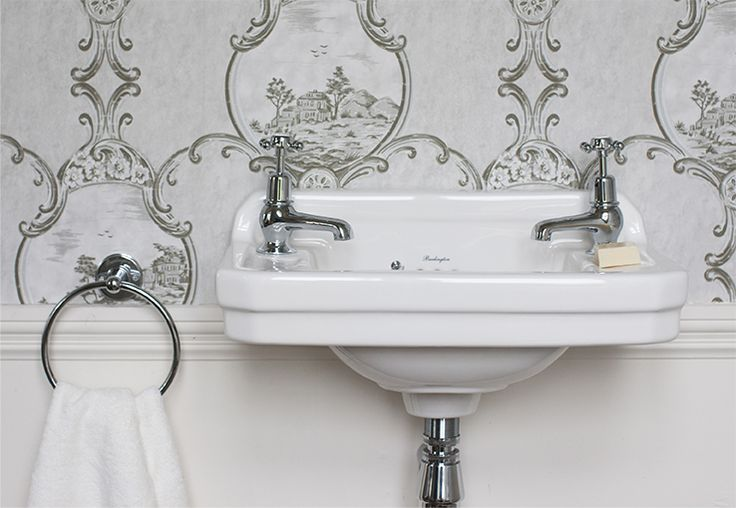 Burlington - Beautifully Traditional, classically styled bathrooms.
