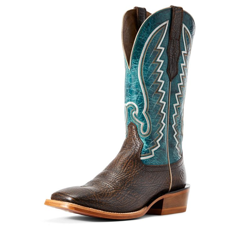 Men's Station Western Boots in Dry Whiskey Leather, size 9.5 D / Medium by Ariat