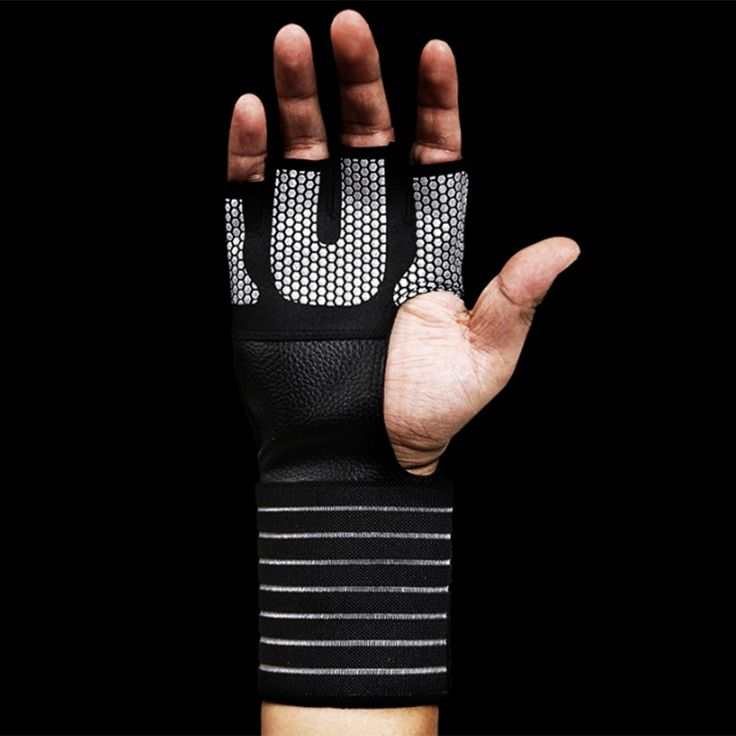 Weight Lifting Sport Gloves Dumbbell Barbell Gym Crossfit Fitness Gloves Gymnastics Bar Weightlifting Workout Gloves Men