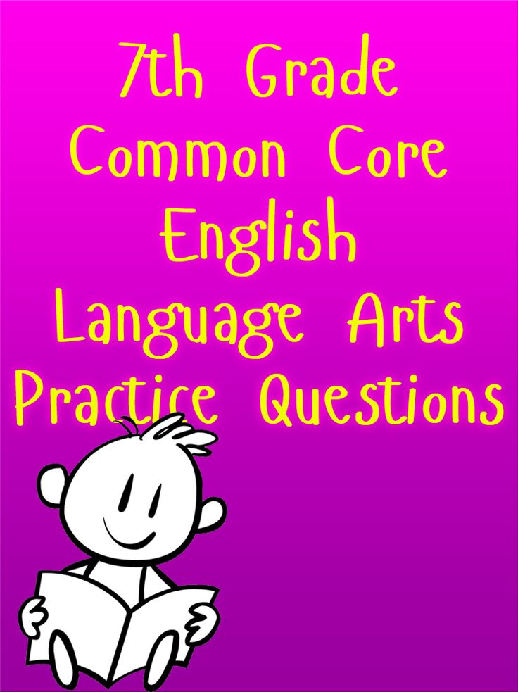 Take advantage of our FREE Common Core English Language Arts Practice Questions for your 7th grade students. These practice questions give students the chance to understand what is expected on the Common Core Language Arts Exam. #commoncore #7thgrade