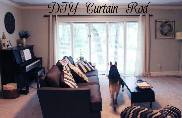 17 Migliori Idee Su Extra Long Curtain Rods Su Pinterest Tende Molto Lunghe Appendere Le