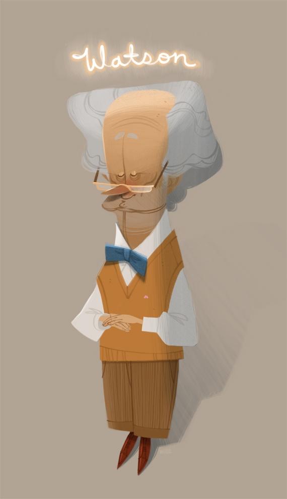 Watson | Illustrator: Willie Real