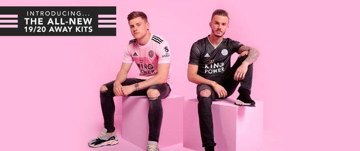 19-20 Leicester City Away Pink Soccer Jerseys Shirt ...
