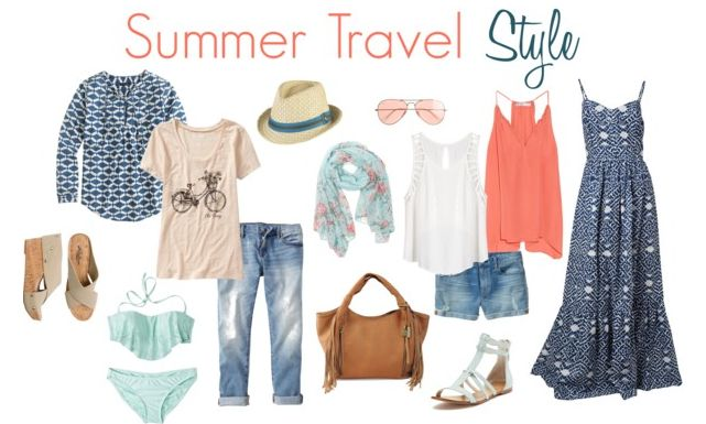 How to pack light when traveling in summer