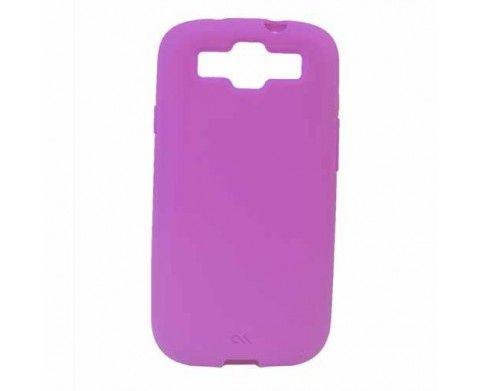 CaseMate Smooth Samsung S3 | Diseño de forma ajustada y aspecto distintivo | Combina estilo elegante con protección | La delgada tapa protectora de color rosado | rodea y da resistencia a los impactos por toda la parte posterior y los lados del Samsung Galaxy SIII, una pieza de ultra protección | suave y delgada tapa que se desliza fácilmente en tus manos y bolsillos, brindando un agradable y cómodo uso | Visita nuestra página web: www.gsmchile.cl