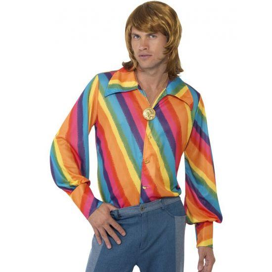 Regenboog thema shirt. Carnavalskleding 2016 #carnaval