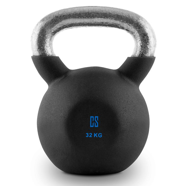 Reißen, Stoßen, Schwingen - 32kg Kugelhantel zum kombinierten Muskel- und Koordinations-Training