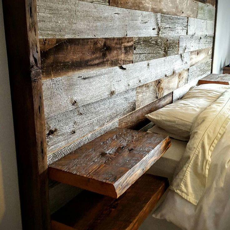 Best 25+ Wood headboard ideas on Pinterest   Reclaimed ...