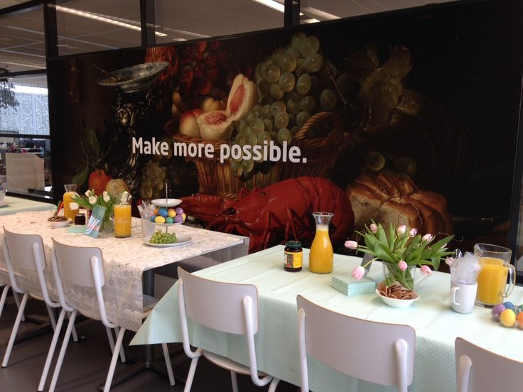 Easter lunch at APS Eindhoven