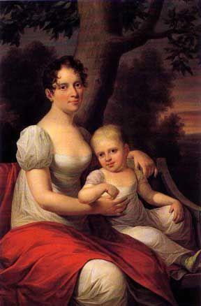 Frederik 6. var den sidste danske konge der holdt en officiel maitresse. Frederikke Dannemand var Frederik 6.s elskerinde gennem 30 år,  Frederik 6.s elskerinde, oberstinde Dannemand · Maleri af Hans Hansen · 1812