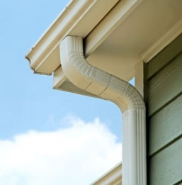 Seamless Gutters are a beautiful way to protect your home.