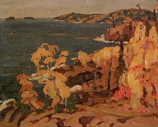 A.Y. Jackson, 1922; Lake Superior