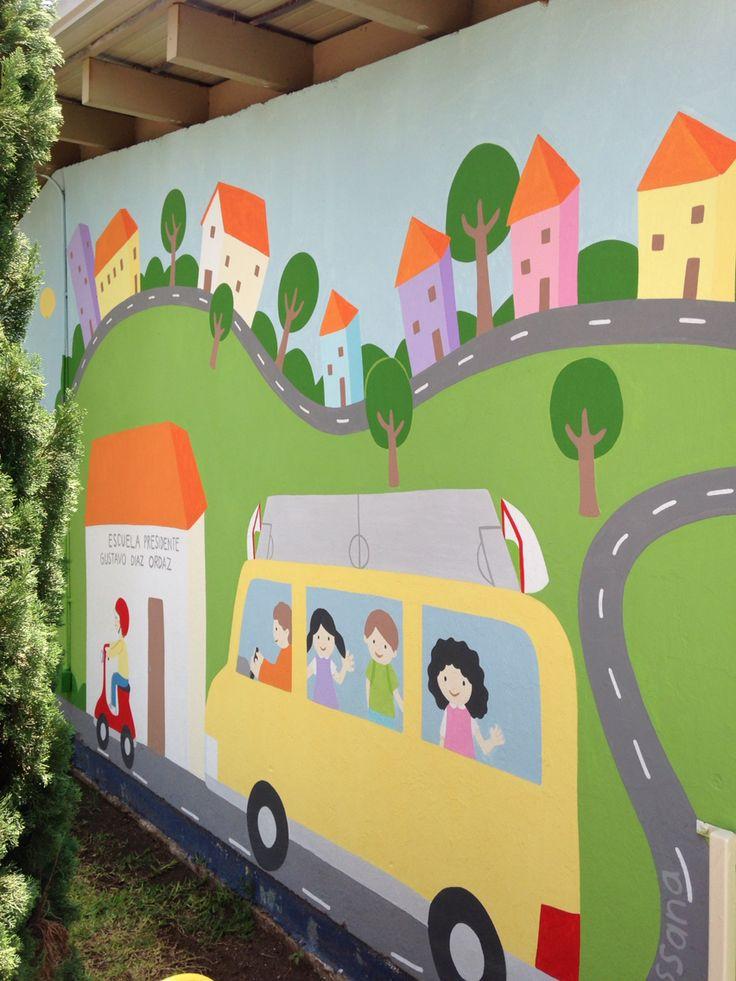 #proyectoarteurbano #arteentuescuela #murales #artwall murales en escuelas de guadalajara