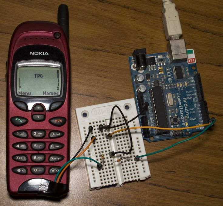 Send SMS using Nokia Phone. Enabling F-bus communications with Arduino (Nokia 6130, 6150, 6190, 5110, 5130, 5150, 5190, 3210, 3310)