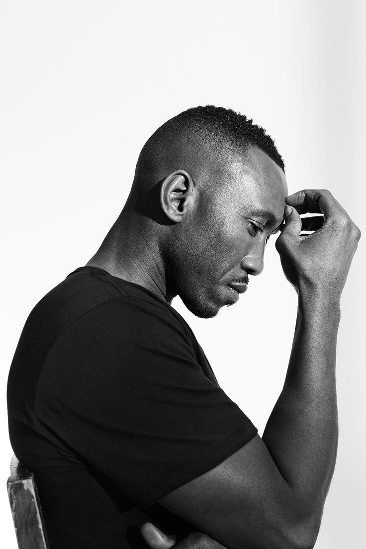 """Even after the performance is over, I realize that you still have to service it. I'll be in a coffee shop and someone will come up to me and just open a vein…telling me how this struck a nerve for them, what their experience was.""   —Academy Award winner Mahershala Ali, wearing the 100% Cotton Crew Neck T-Shirt."