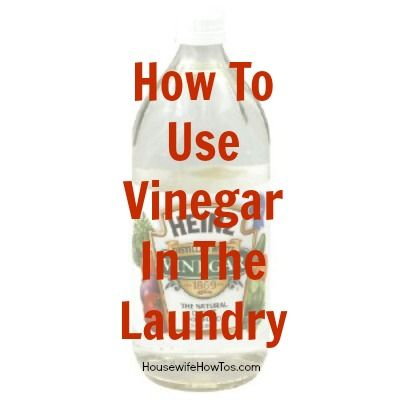 How To Use Vinegar In Laundry - Removing wine stains, sweat stains, or gum; As a fabric softener; Eliminating mildew stink; Make blankets fluffy again; Disinfect fabric without bleach; Soften new jeans; Clean your washing machine.