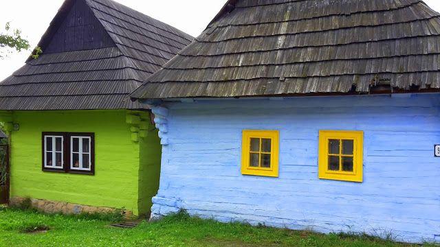 Beautiful SLOVAK village VLKOLÍNEC