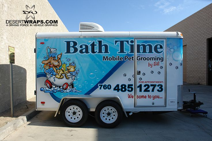A wrapped trailer is a great way to promote your business on the road. Contact DesertWraps.com about trailer options. 760-935-3600. Servicing Palm Springs, Cathedral City, Rancho Mirage, Palm Desert, Rancho Mirage, Indio, and beyond. #Trailer #TrailerWrap #Branding #BusinessBranding #Advertising #Mobile #PalmDesert #CoachellaValley