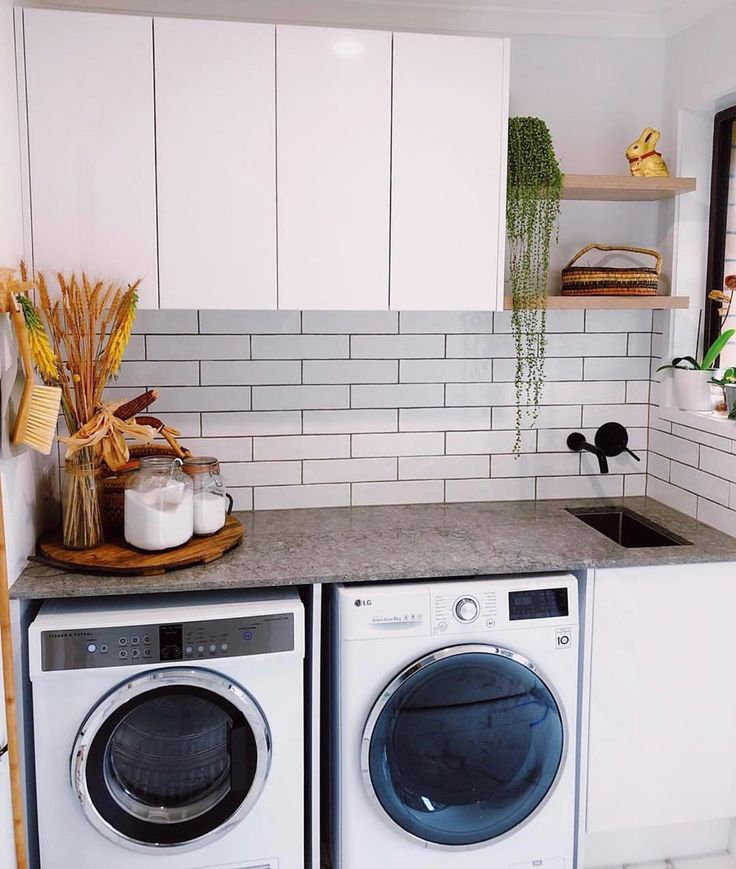 kaboodle kitchen on instagram this quaint laundry ticks all the boxes when it comes to on kaboodle kitchen white pepper id=94096