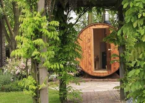Badebotti Modern Sauna