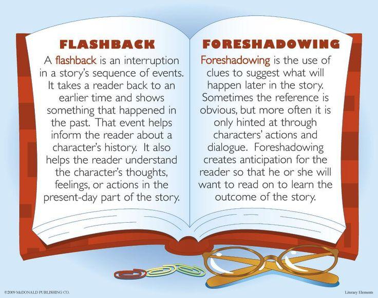 Flashbacks / Foreshadowing