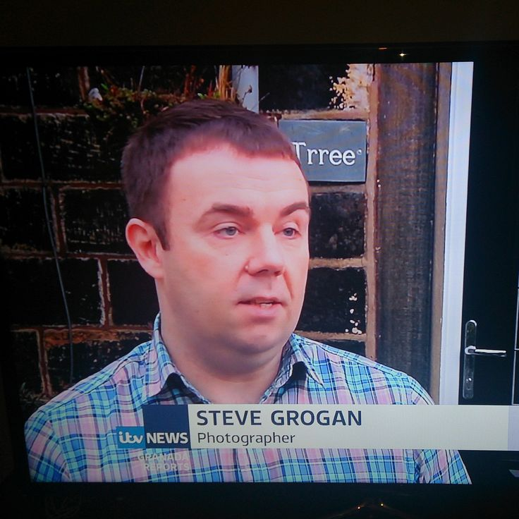 Me on TV in October 2015 after volunteering to help UK charity, Gift of a Wedding. Apologies for the bad shirt choice.