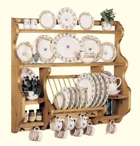 Shabby Chic Plate Rack Wall Mounted | Antique Plate Rack | eBay