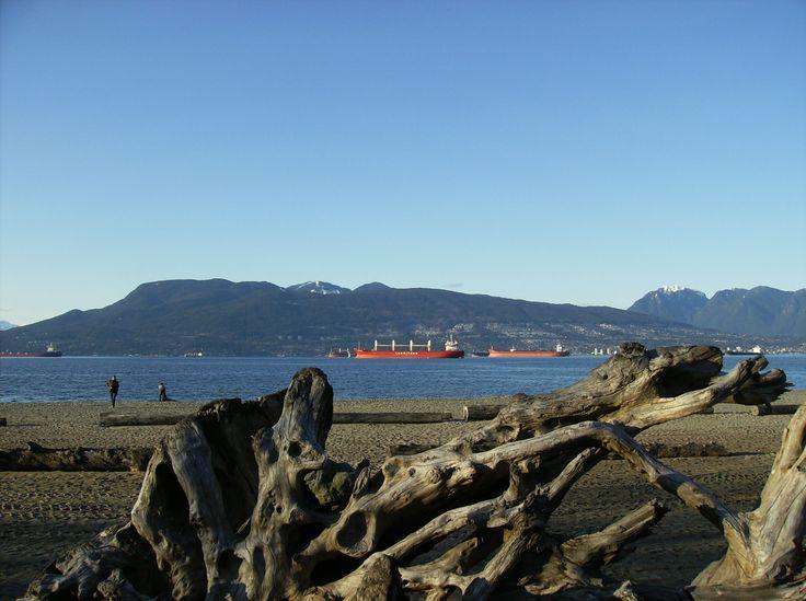 April, Spanish Banks Beach, Vancouver