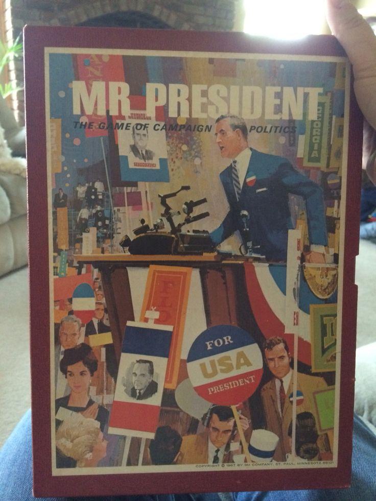 Mr. President Game of Politics - 1967
