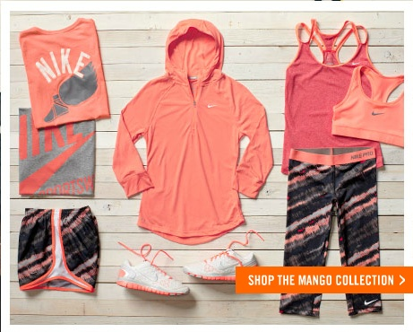 Nike Mango collection. this would make it more fun to work out... :)