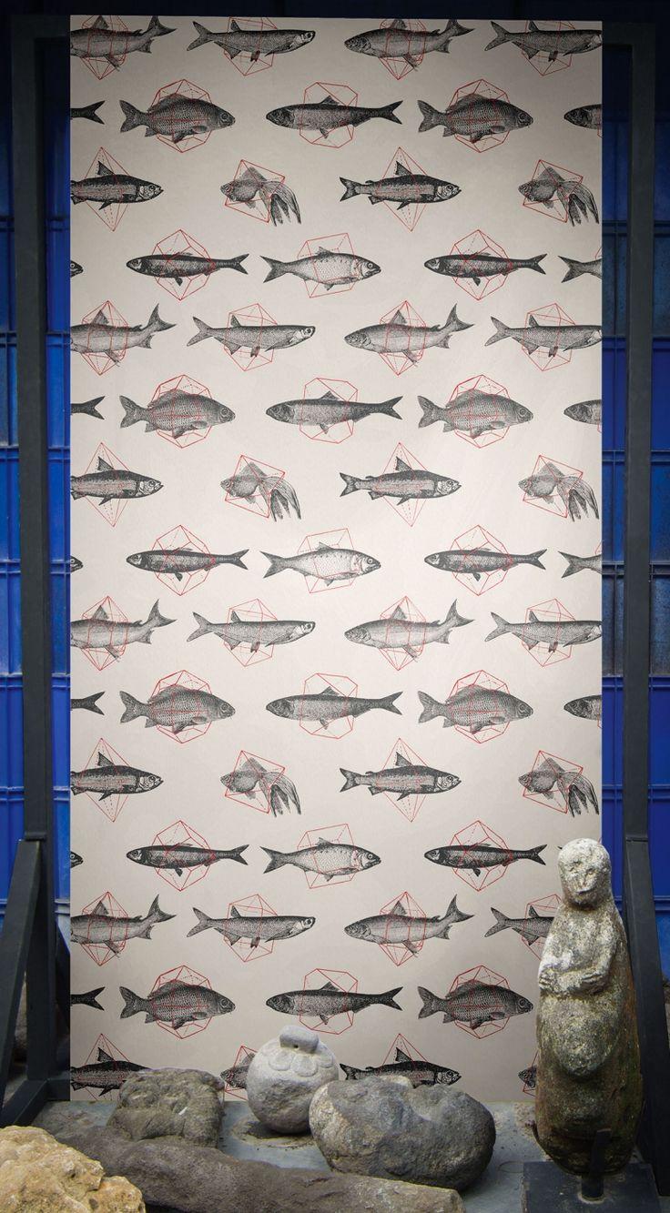 Fishes In Geometrics by Florent Bodart — Shop | FEATHR