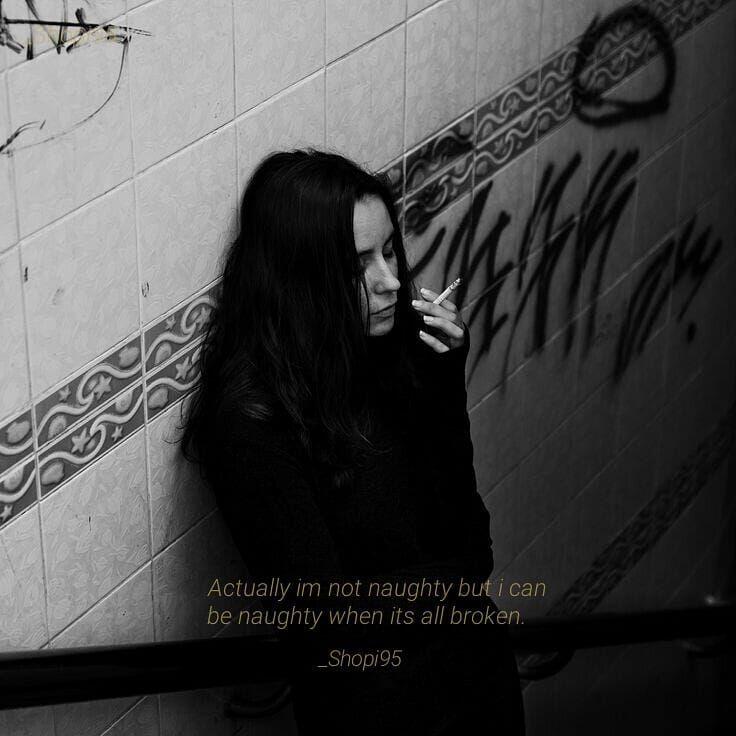 Pin Di Bad Girl Bad Girl Quotes Broken Quotes