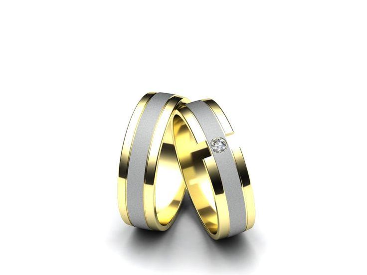 Snubní prsteny A06  #aiola #wedding #rings