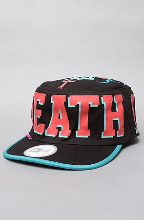 The Death Adders New Era Painters Cap in Black by Mishka
