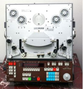 Nagra Kudelski T Audio TC 2 track 1:4 inch reel to reel_01
