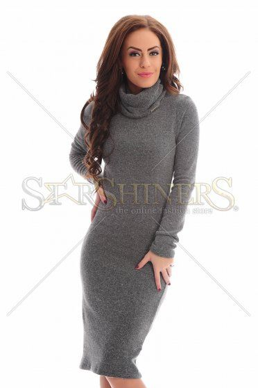 PrettyGirl Strangers Grey Dress